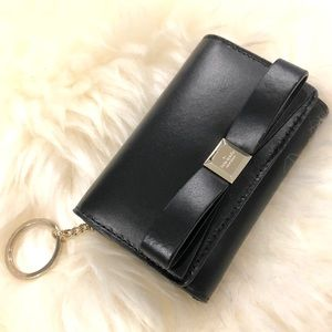 Kate Spade Leather Wallet with Keychain